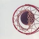 basket, ball, game