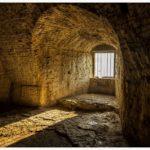 castle, light, prison